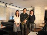 山田 穰 マーマデューク ジャズモデルを吹く。